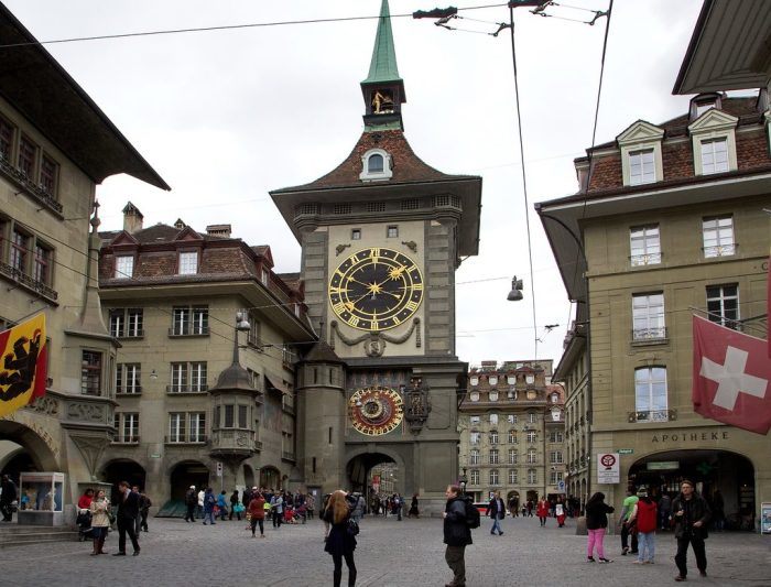 Цитглогге (Zytglogge), Берн, Швейцария